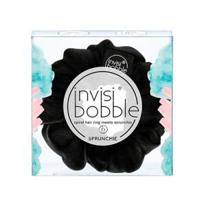 Invisibobble Sprunchie True Black Elastico per Capelli