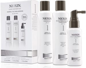Nioxin Sistema 1 <br>Trial Kit<br> 150 ml + 150 ml + 50 ml