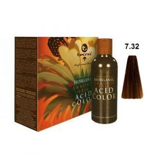 Tecna NCC 7.32 Biondo Medio Oro Naturale Biorganic Acid Color 3x130ml