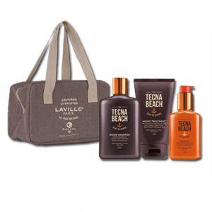 Tecna Monoi Sun Care Kit Shampoo + Treatmetnt + Oil + Beauty Termico Omaggio