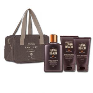 Tecna Monoi Sun Care Kit Shampoo + Treatmetnt + Cream Shield + Beauty Termico Omaggio