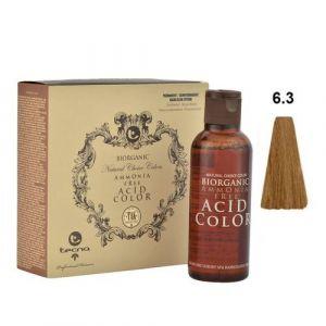 Tecna NCC 6.3 Biondo Scuro Dorato Biorganic Acid Color 3x130ml