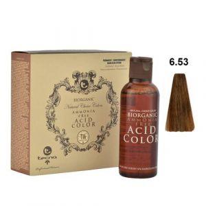 Tecna NCC 6.53 Biondo Scuro Wood Intenso Biorganic Acid Color 3x130ml