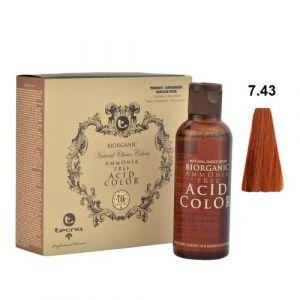 Tecna NCC 7.43 Biondo Rame Dorato Biorganic Acid Color 3x130ml