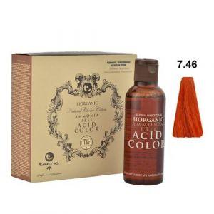 Tecna NCC 7.46 Arancio Rosso Chiaro Biorganic Acid Color 3x130ml