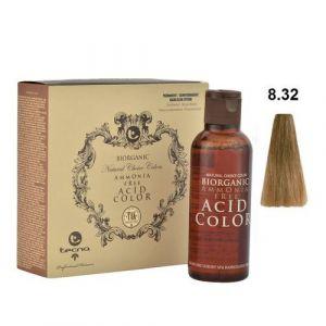 Tecna NCC 8.32 Biondo Chiaro Oro Naturale Biorganic Acid Color 3x130ml