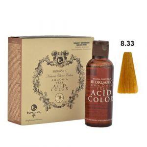 Tecna NCC 8.33 Biondo Chiaro Dorato Intenso Biorganic Acid Color 3x130ml