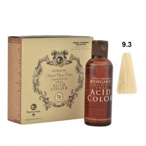 Tecna NCC 9.3 Biondo Chiarissimo Dorato Biorganic Acid Color 3x130ml