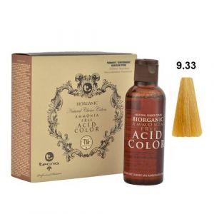 Tecna NCC 9.33 Biondo Chiarissimo Dorato Intenso Biorganic Acid Color 3x130ml