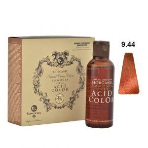 Tecna NCC 9.44 Biondo Chiarissimo Rame Intenso Biorganic Acid Color 3x130ml