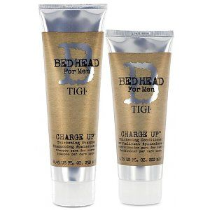 Tigi B for men Kit Charge Up Thickening Shampoo 250ml + Conditioner 200ml
