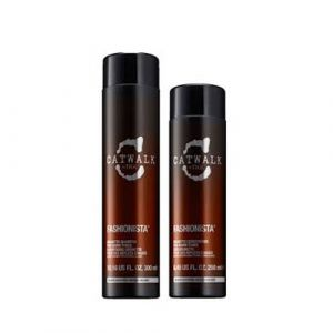 Tigi Catwalk Fashionista Brunette Shampoo 300 ml Fashionista Brunette Conditioner 250 ml