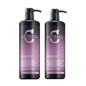Tigi CatWalk Headshot Reconstructive Shampoo 750ml + Conditioner 750ml