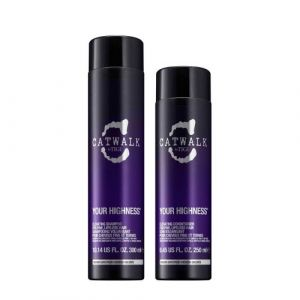 Tigi CatWalk Your Highness Elevating Shampoo 300ml Elevating Conditioner 250ml