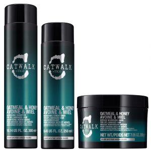 Tigi CatWalk Oatmeal & Honey Shampoo 300ml Conditioner 250ml Mask 200gr