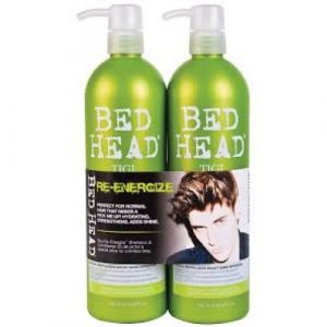 Tigi Bed Head Kit Re-Energize Shampoo 750ml+ Conditioner 750ml