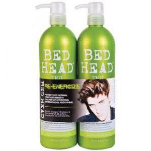 Tigi Bed Head Kit Re-Energize Shampoo 750ml+ Conditioner 750ml