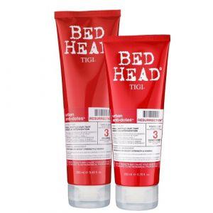 Tigi Bed Head Kit Resurrection Shampoo 250ml + Conditioner 200ml