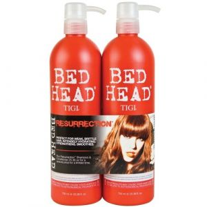 Tigi Bed Head Kit Resurrection Shampoo 750ml Conditioner 750ml