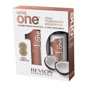 Uniq One All In One Coconut Shampoo 300ml + Treatment 150ml