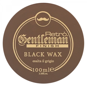 RETRO.GENTLEMAN Black Wax Esalta il Grigio 100ml