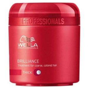 Wella Brilliance Maschera Capelli Grossi 150 ml