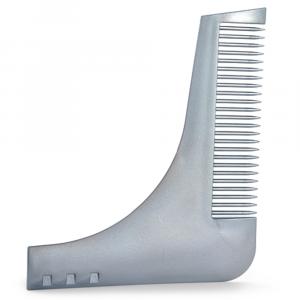 BiFULL Roxe Guide Pettine Guida Per Barba GRIGIO
